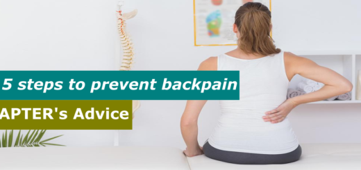 5 steps to prevent backpain