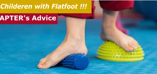 Children with Flat foot